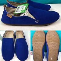 Womens SANUK 'Isabel' Blue Yoga Shoes Sidewalk Flats Loafers SIZE 6 EU 37 UK 4