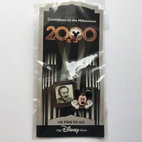 DS Countdown to the Millennium Series 101 Walt Disney & Mickey - Disney Pin 417