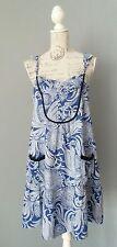 HOSS INTROPIA Kleid Robe Dress Vestido Gr. 42 ( L - XL ) designed in Spain