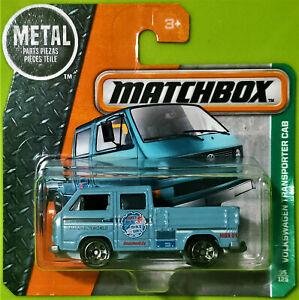 2016 MATCHBOX EXPLORERS #95/125 - VOLKSWAGEN TRANSPORTER CAB WO/TOOLS SHORT CARD