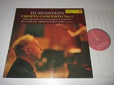 LP/RUBINSTEIN/CHOPIN CONCERTO 1/SKROWACZEWSKI/RCA LSC 2575 RED SEAL