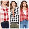Women's Plaid Long Sleeve Button-Down Shirt - Universal Thread-NWT