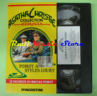 VHS film POIROT A STYLES COURT Agatha Christie collection DEAGOSTINI(F83*)no*dvd
