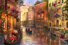 "Jigsaw Puzzle 1500 Pieces Gold Edition ""Sunset In Venice"" by Wuundentoy"