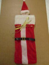 New listing Christmas Santa Suit Wine Bottle Costume