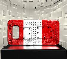 Coque rigide mat pour Galaxy PLUS S10+ Drapeau PEROU 06