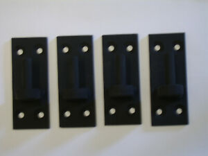 Wrought iron gate hinge / bracket 10mm pin for garden gates
