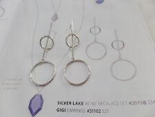 Premier Designs CRESCENT Earrings  geometric ( light weight!)