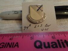 94th S & S Battalion V-21 Unit Crest, DI, DUI (DRAW#X6)
