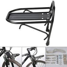 Aluminum Alloy Bike Bicycle Front Rack Luggage Shelf Panniers Carrier Bracket