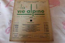 LA VIE ALPINE 34   revue du régionalisme dans les alpe française 1930