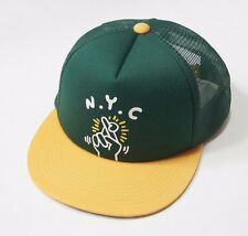 UNIQLO MEN SPRZ NY CAP (KEITH HARING)  Baseball Cap Green (151980)