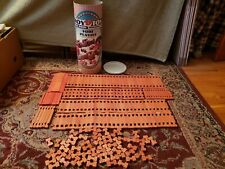 Roy Toy Real Wood Building Set Fort Playset Plus Extras 199 Pieces
