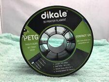 Dikale 1.75mm PETG Filaments for 3D Printers 2.2lbs 1kg Spool - Blue - USED
