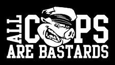 A.C.A.B. SCHWEIN NEU Patch gedruckt All COPS ARE B*STARDS AC/AB FCK CPS POLICE