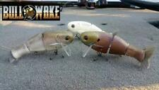 "Mike Bucca 6"" Bull Wake Shad Wakebait Swimbait - Choose Color"