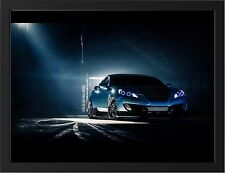 "HYUNDAI GENESIS COUPE A3 FRAMED PHOTOGRAPHIC PRINT 15.7"" x 11.8"""