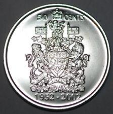 Canada 2002 P 50 cents Nice UNC from roll - BU Canadian Half Dollar