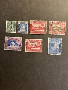 Aden 1942-46 Definitive Part Set/ Victory Fine Used.