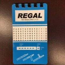 25 REGAL WIRE MARKER BOOKS A-Z 0-15 10 PAGES
