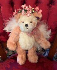 Annette Funicello Pink Mohair Angel Panda Bear Aimee