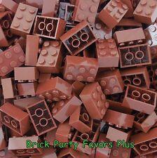 Lego 2X3 Reddish Brown Bricks Lot of 50-200 Lego 3002 Bricks 2 x 3 Blocks