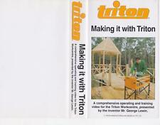 TRITON MAKING IT WITH TRTON VIDEO PAL  VHS ~ A RARE FIND