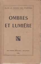 ALYS LE GIGAN DES PORTES / OMBRES ET LUMIERE.  1948 - Envoi.