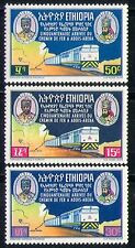 Éthiopie 1967 Trains/train/chemin de fer/locomotive/transport/cartes 3 V Set (n28720)