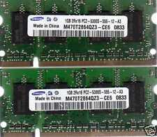 2GB 2x 1GB Kit eMachines D520/D525/D620/D725/E510/E520/E525/E725/G525 RAM Memory
