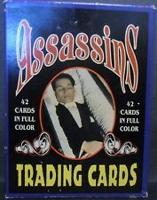 Assassin Cards 42 Card Set, Cain & Brutus to Hinkley & Chapman 1991
