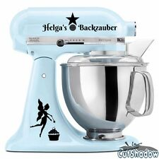 Backzauber + Name Aufkleber KitchenAid kitchen Aid Küchenmaschine Sticker •