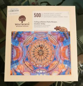 Wentworth Wooden Puzzle 500 pieces - Ceiling at Rustem Pasha Mosque Istanbul