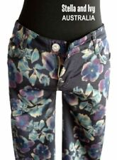 Floral Classic Rise Jeans for Women