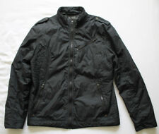 Guess Men's Black Jacket Coat Size L Large Used Condition