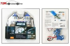NOKYA Halogen Light Bulbs+Wire Harnesses 9007 HB5 Cosmic White 5000K 100/80W