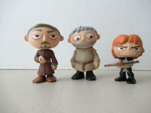 Funko Mystery Mini Game Of Thrones Series 2 Lot 3 Figures Littlefinger Tyrion Ho