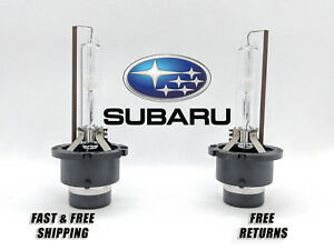 Stock Fit HID Xenon Headlight Bulb For Subaru BRZ 2013-2016 Low & High Beam Qty2