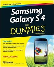 Samsung Galaxy S 4 For Dummies, Hughes, Bill, Good Condition, Book