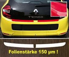 Lackschutzfolie Ladekantenschutz transparent Renault Twingo 3  150 µm