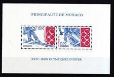 Monaco 1994 postfrisch MiNr. Block 61  Olympische Winterspiele, Lillehammer