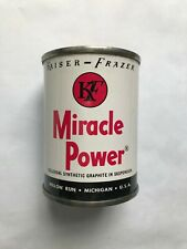 KAISER-FRAZER MIRACLE OIL - UNOPENED CAN  - NOS - RARE - UNIQUE - COLLECTIBLE