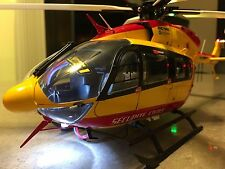Hirobo 4-Blade Super Scale Series Securite Civile Eurocopter EC145 with LED