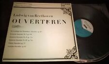 FRANZ KONWITSCHNY BEETHOVEN THE OVERTURES LP ETERNA STEREO 825 121 GERMANY ED1