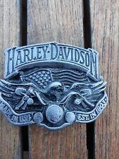 Harley Davidson boucle de ceinture