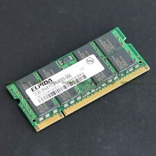 ELPIDA 2GB PC2-6400 DDR2-800 800MHz DDR2 200pin Laptop Notebook memory So-DIMM
