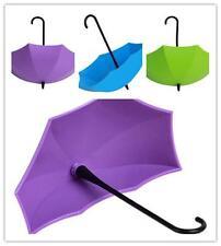 3pcs Creative Umbrella Key Holder Wall Hook Hanger Organizer Decoration QK