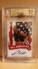 2012 Leaf Signature All-American Silver #DL1 Damian Lillard 72/99 BGS 9.5 - 10