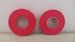 SINGLE ROLLS TAPENER TAPE RED FOR MAX TAPE MACHINE