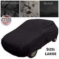 Black Indoor & Outdoor UV Rain Frost Snow Breathable Full Car Cover for Mazda 3